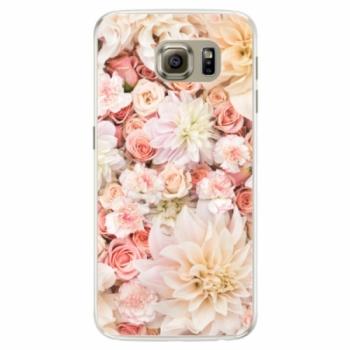 Silikonové pouzdro iSaprio - Flower Pattern 06 - Samsung Galaxy S6 Edge