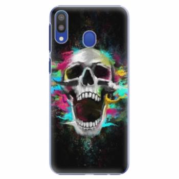 Plastové pouzdro iSaprio - Skull in Colors - Samsung Galaxy M20