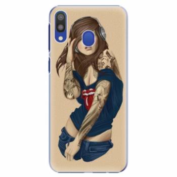 Plastové pouzdro iSaprio - Girl 03 - Samsung Galaxy M20