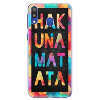 Plastové pouzdro iSaprio - Hakuna Matata 01 - Samsung Galaxy M20