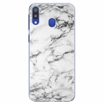 Plastové pouzdro iSaprio - White Marble 01 - Samsung Galaxy M20