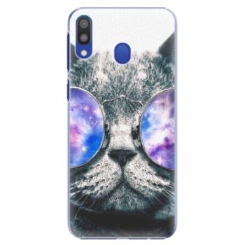 Plastové pouzdro iSaprio - Galaxy Cat - Samsung Galaxy M20