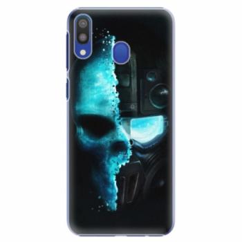 Plastové pouzdro iSaprio - Roboskull - Samsung Galaxy M20