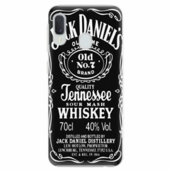 Plastové pouzdro iSaprio - Jack Daniels - Samsung Galaxy A20e