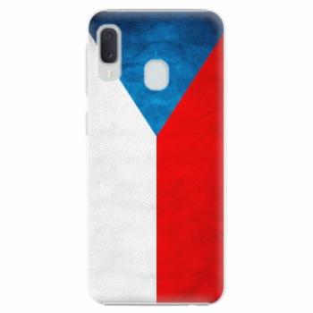 Plastové pouzdro iSaprio - Czech Flag - Samsung Galaxy A20e