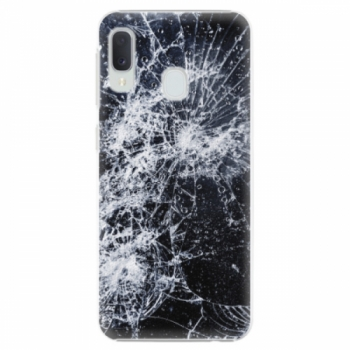 Plastové pouzdro iSaprio - Cracked - Samsung Galaxy A20e