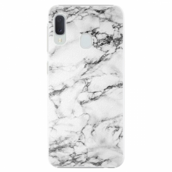 Plastové pouzdro iSaprio - White Marble 01 - Samsung Galaxy A20e