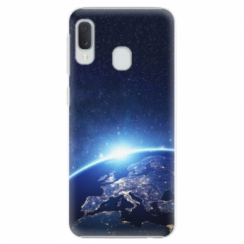 Plastové pouzdro iSaprio - Earth at Night - Samsung Galaxy A20e