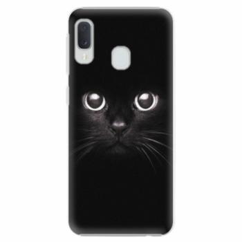 Plastové pouzdro iSaprio - Black Cat - Samsung Galaxy A20e