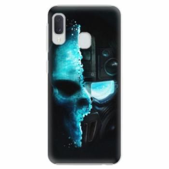 Plastové pouzdro iSaprio - Roboskull - Samsung Galaxy A20e