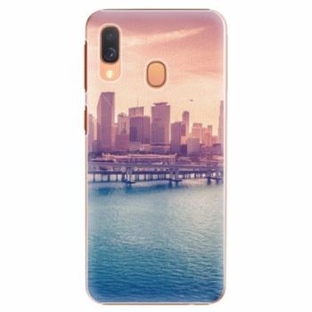 Plastové pouzdro iSaprio - Morning in a City - Samsung Galaxy A40
