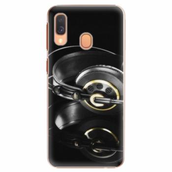 Plastové pouzdro iSaprio - Headphones 02 - Samsung Galaxy A40