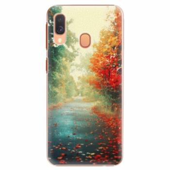 Plastové pouzdro iSaprio - Autumn 03 - Samsung Galaxy A40
