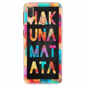 Plastové pouzdro iSaprio - Hakuna Matata 01 - Samsung Galaxy A40