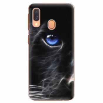Plastové pouzdro iSaprio - Black Puma - Samsung Galaxy A40