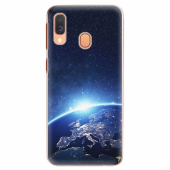 Plastové pouzdro iSaprio - Earth at Night - Samsung Galaxy A40