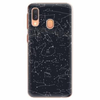 Plastové pouzdro iSaprio - Night Sky 01 - Samsung Galaxy A40