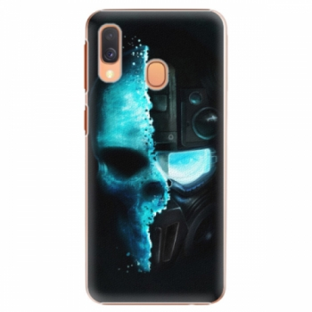 Plastové pouzdro iSaprio - Roboskull - Samsung Galaxy A40