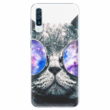 Plastové pouzdro iSaprio - Galaxy Cat - Samsung Galaxy A50