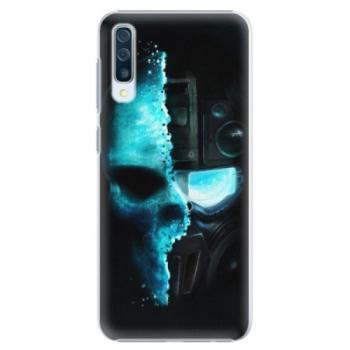 Plastové pouzdro iSaprio - Roboskull - Samsung Galaxy A50