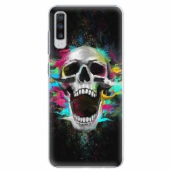 Plastové pouzdro iSaprio - Skull in Colors - Samsung Galaxy A70