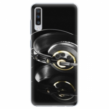 Plastové pouzdro iSaprio - Headphones 02 - Samsung Galaxy A70