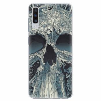 Plastové pouzdro iSaprio - Abstract Skull - Samsung Galaxy A70
