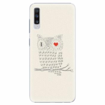 Plastové pouzdro iSaprio - I Love You 01 - Samsung Galaxy A70