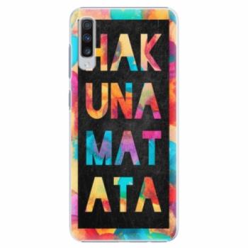 Plastové pouzdro iSaprio - Hakuna Matata 01 - Samsung Galaxy A70
