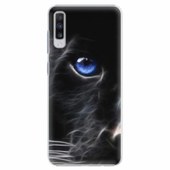 Plastové pouzdro iSaprio - Black Puma - Samsung Galaxy A70