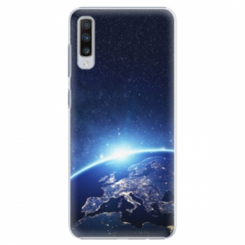 Plastové pouzdro iSaprio - Earth at Night - Samsung Galaxy A70