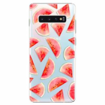 Plastové pouzdro iSaprio - Melon Pattern 02 - Samsung Galaxy S10+