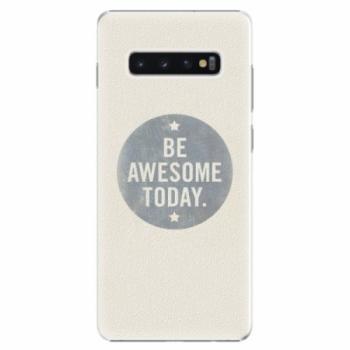 Plastové pouzdro iSaprio - Awesome 02 - Samsung Galaxy S10+
