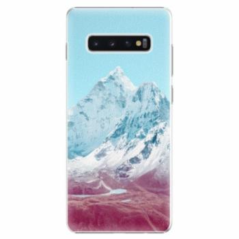 Plastové pouzdro iSaprio - Highest Mountains 01 - Samsung Galaxy S10+