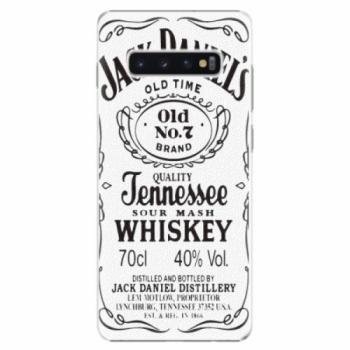 Plastové pouzdro iSaprio - Jack White - Samsung Galaxy S10+