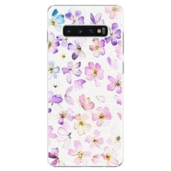 Plastové pouzdro iSaprio - Wildflowers - Samsung Galaxy S10+