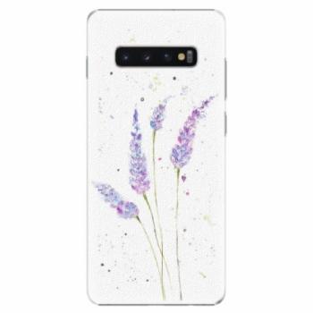 Plastové pouzdro iSaprio - Lavender - Samsung Galaxy S10+
