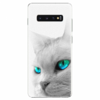 Plastové pouzdro iSaprio - Cats Eyes - Samsung Galaxy S10+