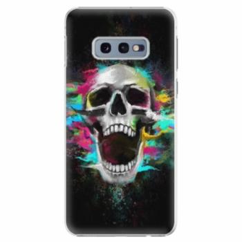 Plastové pouzdro iSaprio - Skull in Colors - Samsung Galaxy S10e