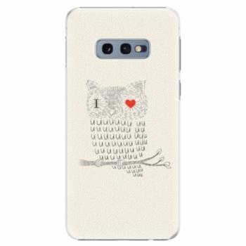 Plastové pouzdro iSaprio - I Love You 01 - Samsung Galaxy S10e