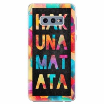 Plastové pouzdro iSaprio - Hakuna Matata 01 - Samsung Galaxy S10e