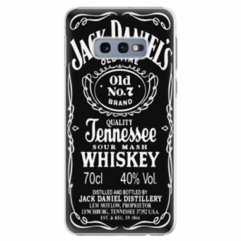 Plastové pouzdro iSaprio - Jack Daniels - Samsung Galaxy S10e