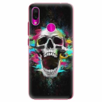 Plastové pouzdro iSaprio - Skull in Colors - Xiaomi Redmi Note 7