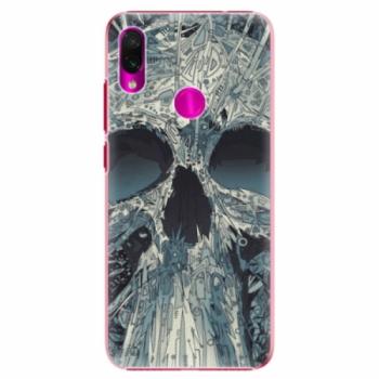 Plastové pouzdro iSaprio - Abstract Skull - Xiaomi Redmi Note 7