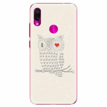 Plastové pouzdro iSaprio - I Love You 01 - Xiaomi Redmi Note 7