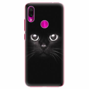 Plastové pouzdro iSaprio - Black Cat - Xiaomi Redmi Note 7