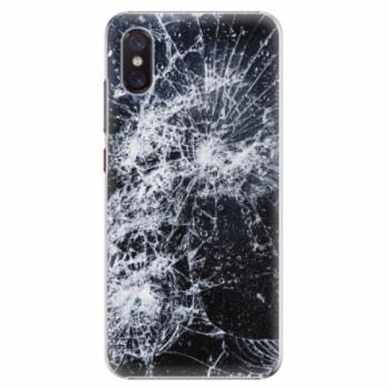 Plastové pouzdro iSaprio - Cracked - Xiaomi Mi 8 Pro
