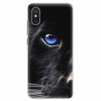 Plastové pouzdro iSaprio - Black Puma - Xiaomi Mi 8 Pro