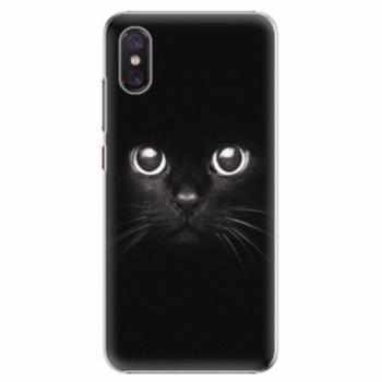 Plastové pouzdro iSaprio - Black Cat - Xiaomi Mi 8 Pro