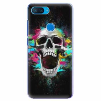Plastové pouzdro iSaprio - Skull in Colors - Xiaomi Mi 8 Lite